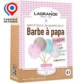 Sucre barbe à papa Lagrange Assortiment sucres Barbe à papa 380000