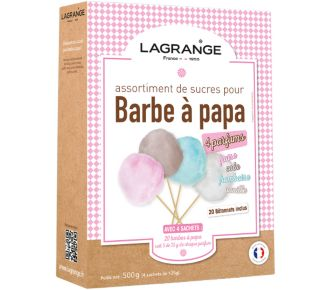 Lagrange Assortiment Barbe à papa 380000