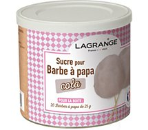 Sucre barbe à papa Lagrange Sucre Barbe à papa coca cola 500g 380009
