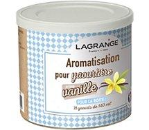 Arôme Lagrange vanille pour yaourts