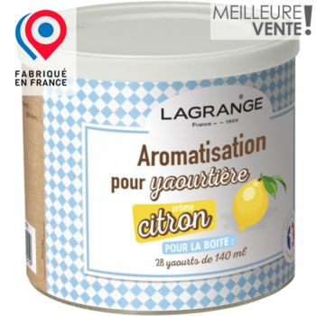 Lagrange citron pour yaourts