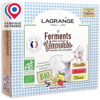 Lagrange BIO arome Vanille-Fraise-Citron