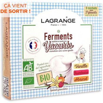 Lagrange BIO arome Vanille-Framboise-Abricot