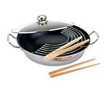 Wok Baumalu inox diam 32 cm induction 341862