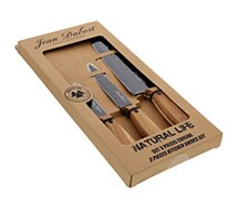 Set couteaux Dubost  3 couteaux Natural Life inox