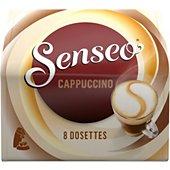Dosette Café Souple Senseo Café Gourmand Cappucino X8