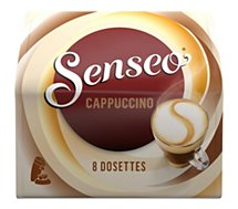 Dosette Senseo Senseo  Café Gourmand Cappucino X8