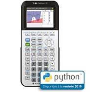 Calculatrice scientifique Texas Instruments  TI-83 Premium CE PYTHON