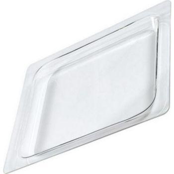 De Dietrich lèche frite rectangulaire en verre (400