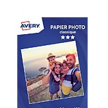 Papier photo Avery  40 Photos brillantes A4 180g
