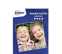 Papier photo Avery  35 Photos brillantes A4 230g