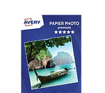 Papier photo Avery 25 Photos brillantes A4 270g