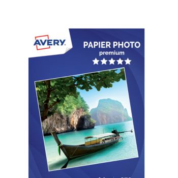 Avery 25 Photos brillantes A4 270g