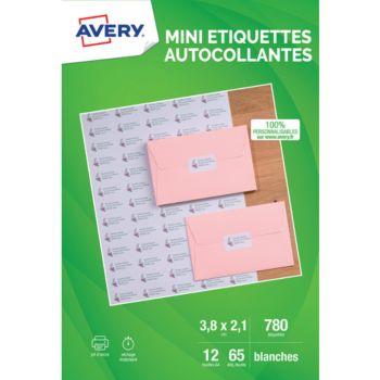 Avery 780 Mini-etiquettes