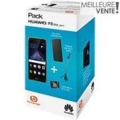 Smartphone Huawei Pack Noel P8 Lite 2017 Noir