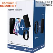 Smartphone Huawei Pack Mate20 lite + View Flip + Band 3E