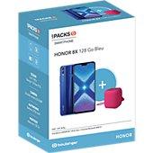 Smartphone Honor Pack 8X 128go + Enceinte AM510