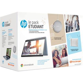 HP Pack X360 14-da0000nf+étui+google Mini