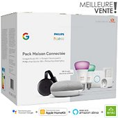 Pack Philips Hue/Google Maison connectée