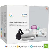 Pack Philips Home mini+Chrome Cast+Hue E27+Smart plug