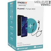 Smartphone Huawei Pack P Smart 2019 + Casque AM61