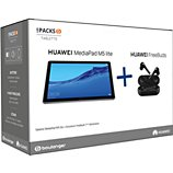 Tablette Android Huawei  Pack M5 lite 10'' 64Go + Freebuds