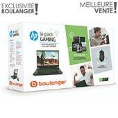 PC Gamer HP Pack 15-ec0002nf + souris + jeux