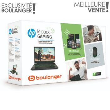 HP Pack 15-ec0002nf + souris + jeux