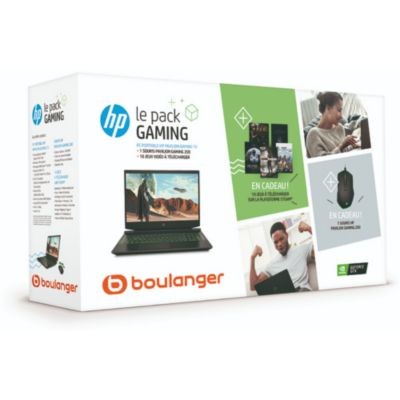 Location PC Gamer HP Pack Gaming HP 15-ec0002nf
