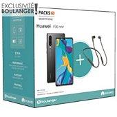 Smartphone Huawei Pack P30 Noir + Freelace