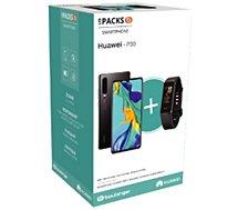 Smartphone Huawei  Pack P30 Noir + Band 4 Noir