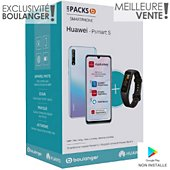 Smartphone Huawei Pack Psmart S Cristal+Band 4