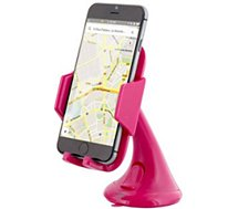 Support smartphone TNB  Voiture ventouse rose