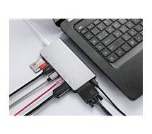 Hub WE  USB-C Gris
