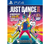 Jeu PS4 Ubisoft  Just Dance 2018