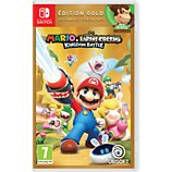 Jeu Switch Ubisoft  Mario Lapins Crétins Kingdom Battle Gold