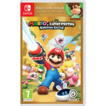 Ubisoft Mario Lapins Crétins Kingdom Battle Gold