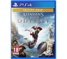 Jeu PS4 Ubisoft Assassin's Creed Odyssey Ed Gold