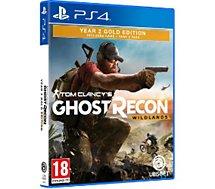 Jeu PS4 Ubisoft Ghost Recon Wildlands Année 2 Gold