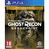 Jeu PS4 Ubisoft Ghost Recon Breakpoint Edition Gold