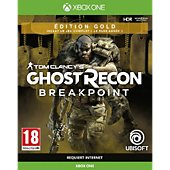 Jeu Xbox One Ubisoft Ghost Recon Breakpoint Edition Gold