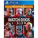 Jeu PS4 Ubisoft Watch Dogs Legion Edition Gold