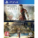 Jeu PS4 Ubisoft  Assassin's Creed Origins + Odyssey