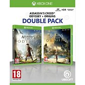 Jeu Xbox One Ubisoft Assassin's Creed Origins + Odyssey