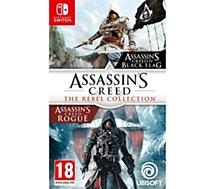 Jeu Switch Ubisoft  Assassin's Creed Black Flag + Rogue