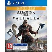 Jeu PS4 Ubisoft ASSASSIN'S.VALHALLA ED.GOLD