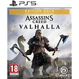 Jeu PS5 Ubisoft  ASSASSIN'S VALHALLA ED.GOLD
