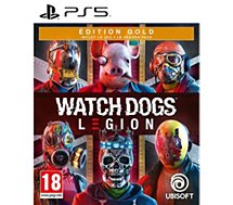 Jeu PS5 Ubisoft  WATCH DOGS LEGION ED.GOLD