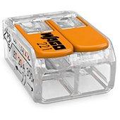 Mini borne Wago 10 minibornes automatiques - 5 entrées
