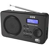 Radio numérique CGV  DR5+ noire
